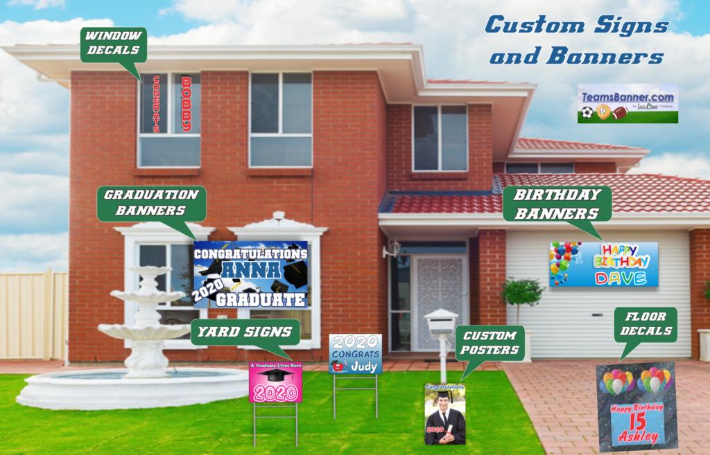 Custom Low Cost Printing - Custom Home Signage