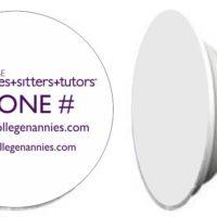 Custom College Nannies + Sitters + Tutors Custom cell Phone stand Popsocket