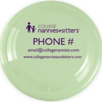 College Nannies Flying Disc